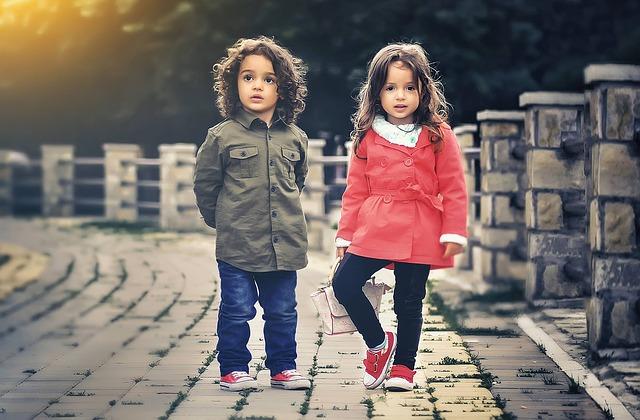 dívky školkového věku