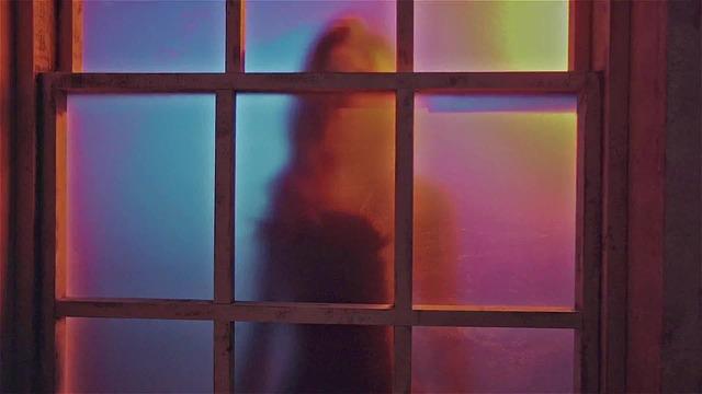 skleněné dveře